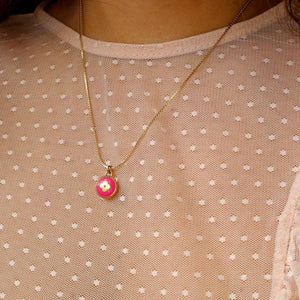 Authentic Louis Vuitton Pendant Pastilles Roses