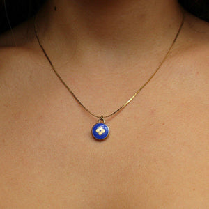 Authentic Louis Vuitton Blue Pendant Pastilles