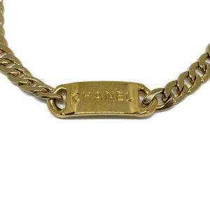 Authentic Chanel Pendant logo choker