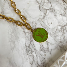 Load image into Gallery viewer, Lime Logo Pendant from Authentic Charm