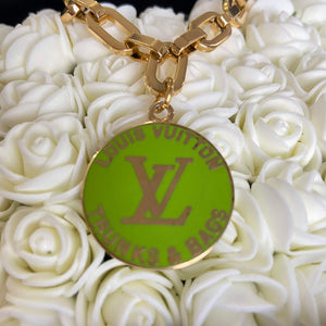 Lime Logo Pendant from Authentic Charm