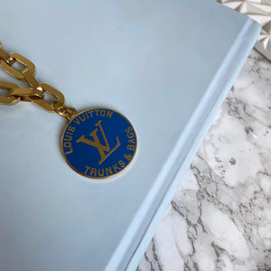 Navy Logo Pendant from Authentic Charm