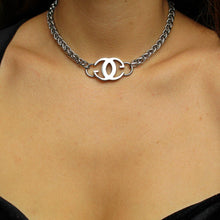 Load image into Gallery viewer, Repurposed Gucci Pendant-Choker