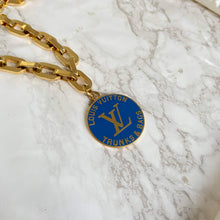 Load image into Gallery viewer, Navy Logo Pendant from Authentic Charm