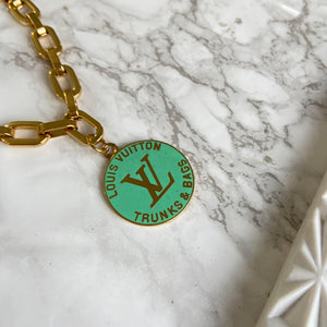 Seafoam Logo Pendant from Authentic Charm