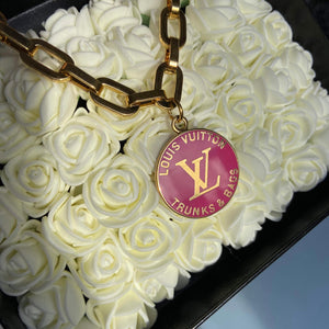 Pink Logo Pendant from Authentic Charm