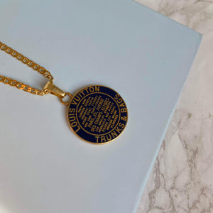 Navy Blue Pendant from Authentic Charm