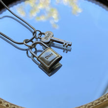 Load image into Gallery viewer, Authentic Dior Vintage Pendant - Necklace - Boutique SecondLife