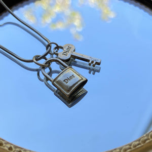 Authentic Dior Vintage Pendant - Necklace - Boutique SecondLife