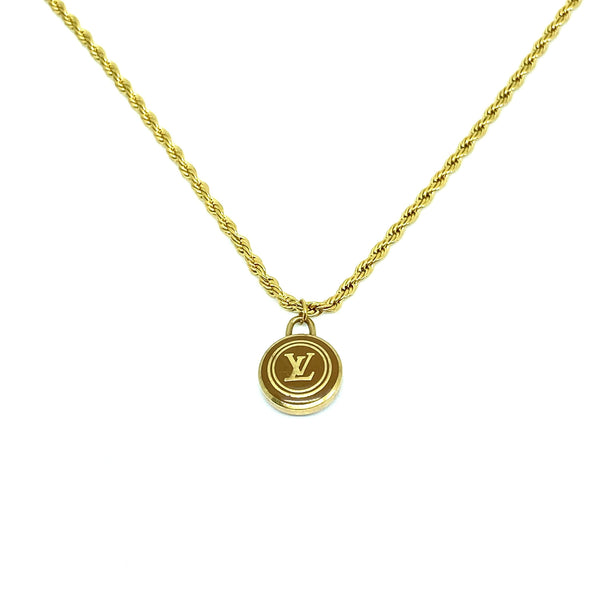 Nude collection: The Sienna Logo Pendant
