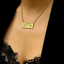 Load image into Gallery viewer, Authentic Christian DIOR Tag Necklace