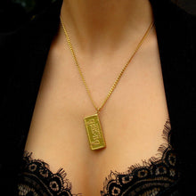 Load image into Gallery viewer, Authentic Christian Dior Pendant Tag STAMPED -Necklace