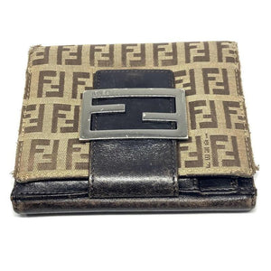Authentic Preowned Fendi Wallet Repurposed Waist Belt