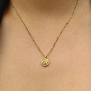 Authentic Christian Dior Pendant-Necklace