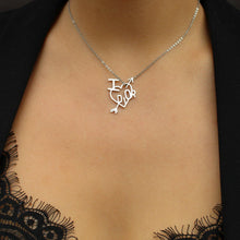 Load image into Gallery viewer, Authentic Christian Dior 'I Love Dior' Heart Necklace