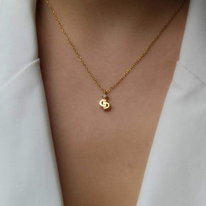 Authentic Mini Dior Pendant-  Delicate Necklace