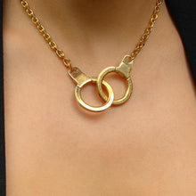 Load image into Gallery viewer, Authentic Louis Vuitton Double Clasp- Reworked Necklace