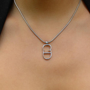 Authentic Dior CD Large Necklace