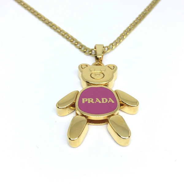 Holiday Collection: Pink Bear Reworked Necklace