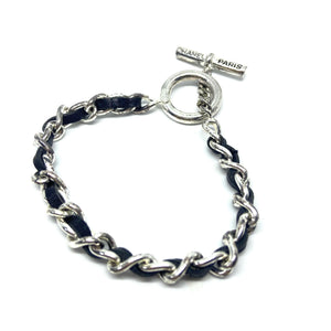 Authentic Bracelet from Repurposed Chanel Bracelet