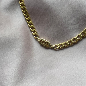 Reworked Dior Choker from Authentic Necklace