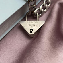 Load image into Gallery viewer, Authentic Prada Triangle Padlock-Necklace