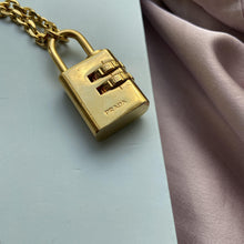 Load image into Gallery viewer, Authentic Prada Padlock-Necklace