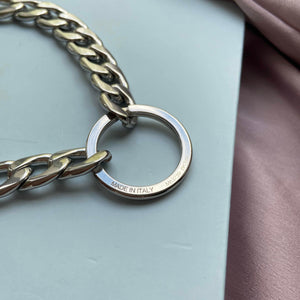 Authentic Louis Vuitton Ring- Reworked Necklace