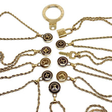 Load image into Gallery viewer, Authentic Louis Vuitton Logo Pastilles Pendant Necklace
