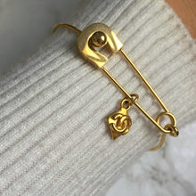 Load image into Gallery viewer, Bracelet Pin Thin with Authentic Pendant