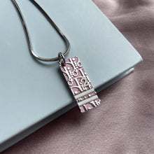 Load image into Gallery viewer, Authentic Dior Pink Pendant Necklace