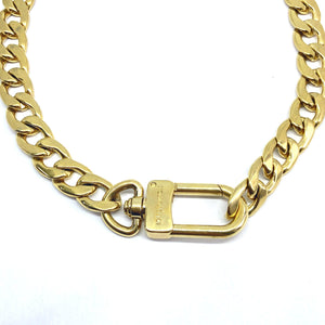 Authentic Louis Vuitton Clasp- Reworked Choker