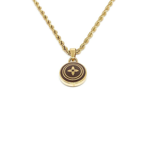 Authentic Louis Vuitton Pastilles Pendant Necklace
