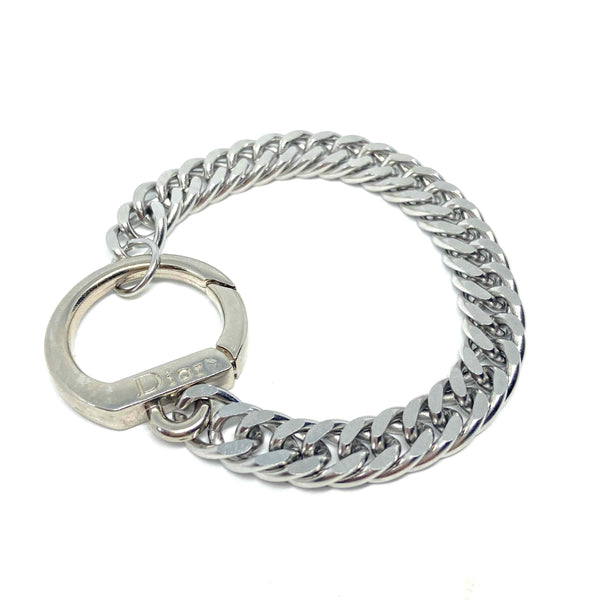 Repurposed Authentic Dior clasp - Bracelet