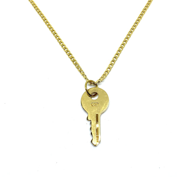 Authentic Christian Dior Key - Necklace