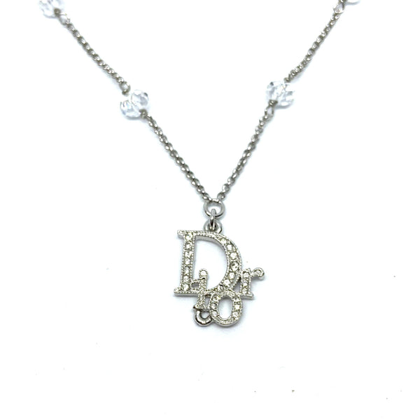 Authentic Dior  Silver Necklace