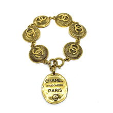 Load image into Gallery viewer, Authentic Chanel Pendant CC Cambon- Repurposed Necklace