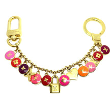 Load image into Gallery viewer, Authentic Louis Vuitton Logo Pendant Pastilles Roses