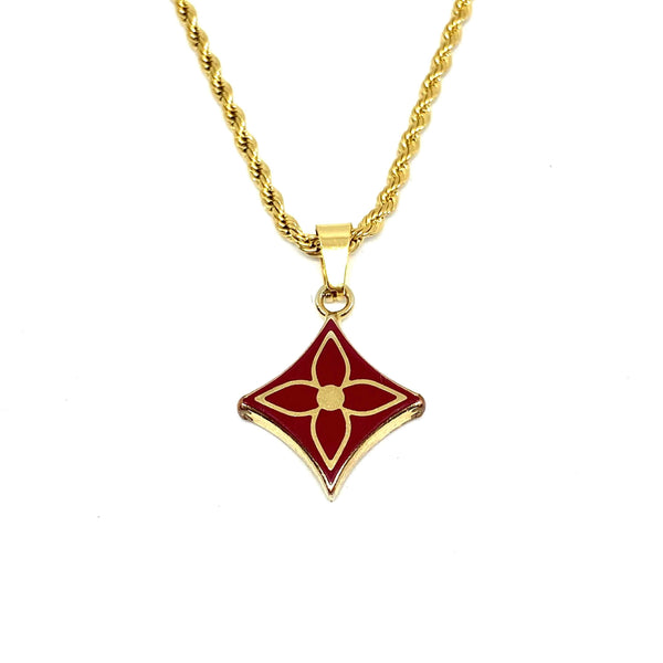 Gift Edition - Authentic Louis Vuitton Pendant- Necklace
