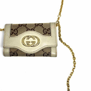 Gift Edition - Authentic Preowned Gucci Key Case Repurposed Waist Belt - Boutique SecondLife