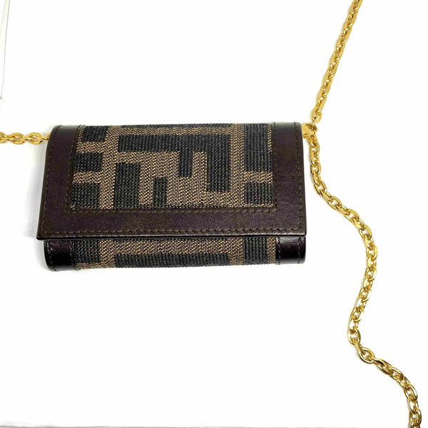 Gift Edition - Authentic Preowned Fendi Key Case Repurposed Waist Belt - Boutique SecondLife