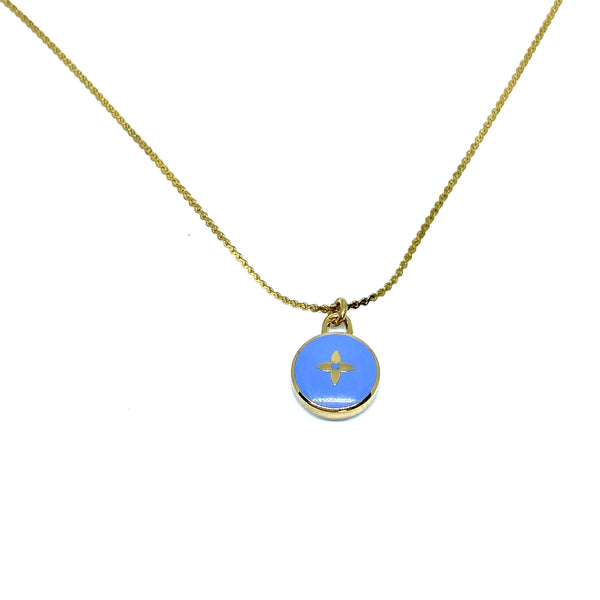 Authentic Louis Vuitton Blue Pendant Pastilles - Boutique SecondLife