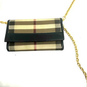 Authentic Preowned Burberry Key Case Repurposed Waist Belt