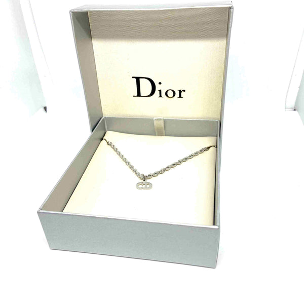 Gift Edition - Reworked Mini Dior Pendant - Necklace