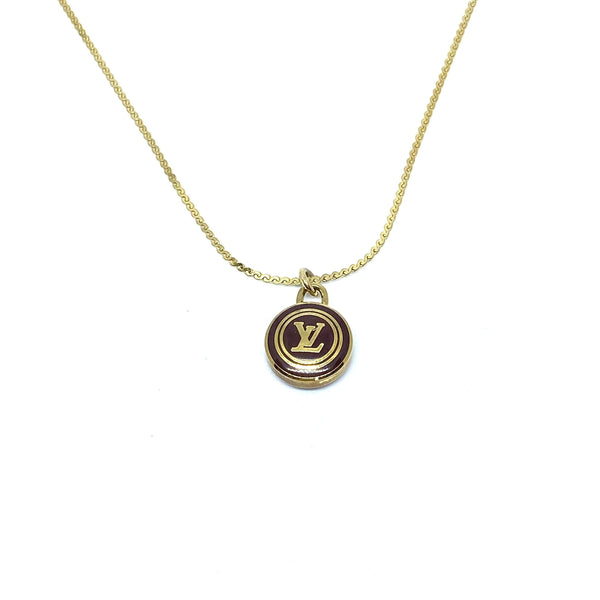 Nude collection: The Chocolate Logo Pendant