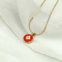 Load image into Gallery viewer, Authentic Louis Vuitton Red Pendant Pastilles Roses