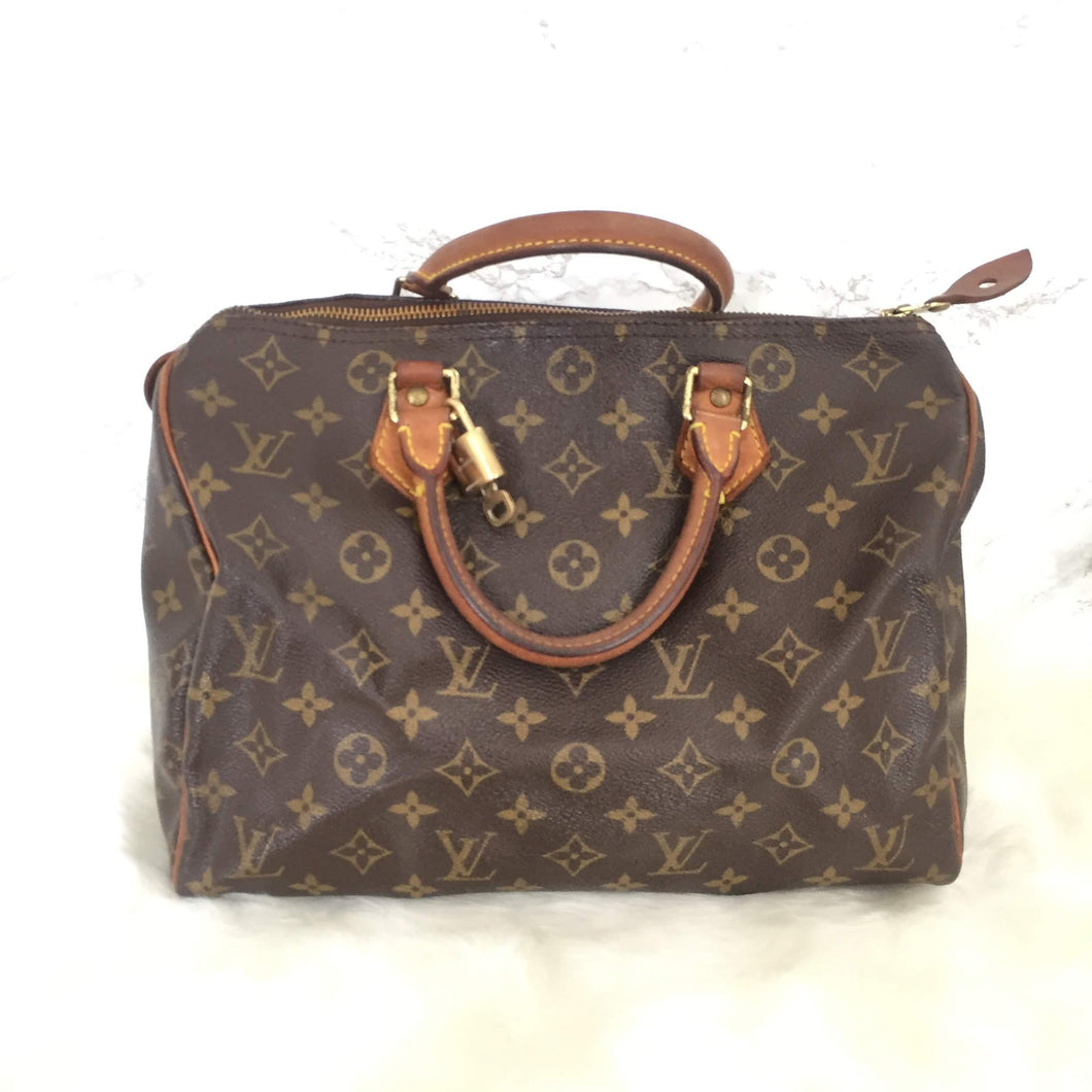 Louis Vuitton Speedy 30 Vintage Authentic Monogram