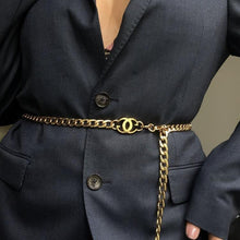Load image into Gallery viewer, Waist Chain Belt- Repurposed From Belt