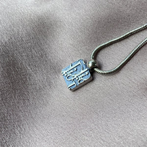 Authentic Mini Dior Trotter Pendant - Necklace