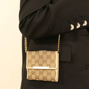 Authentic Preowned Gucci Wallet Repurposed Waist Belt